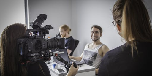 Licht- & Filmtechnik bei Interviews