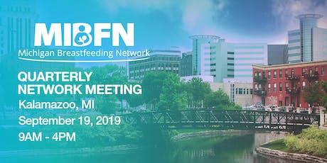 MIBFN Quarterly Network Meeting - September 19, 2019 tickets
