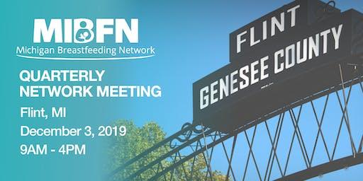 Canceled: MIBFN Quarterly Network Meeting - December 3, 2019