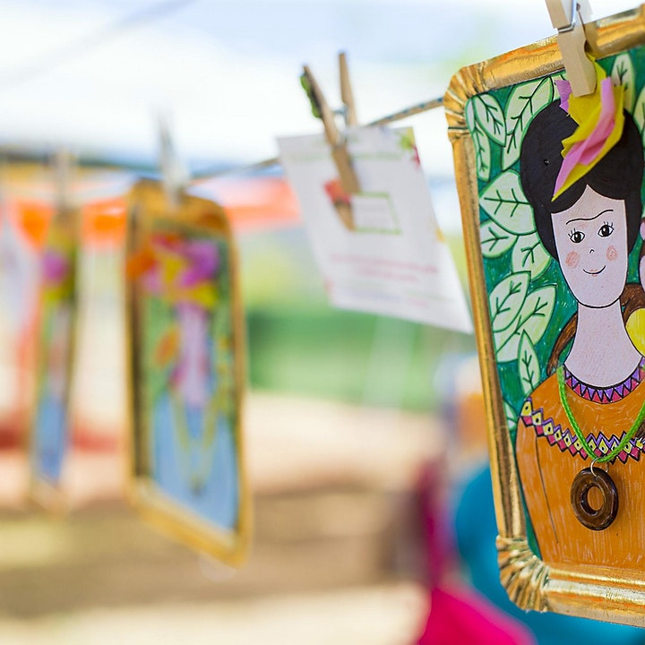 Imagen de Taller familiar e infantil: Retratos de Frida Kahlo