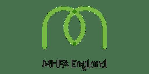 Adult Mental Health First Aid (MHFA)