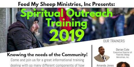 Spiritual Outreach Training tickets