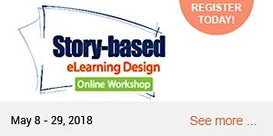 Story-Based eLearning Design Online Workshop 2019 (May...