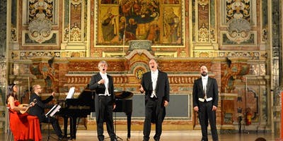 The Three Tenors with ballet : Opera arias neapolitan song and pulcinella