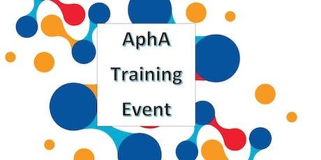 Effective Communication (AphA Training) tickets