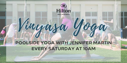 Vinyasa Yoga at Hilton West Palm Beach