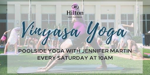 Vinyasa Yoga at Hilton West Palm Beach