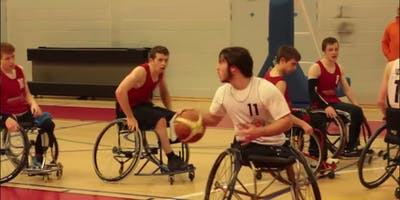 Under 19's Wheelchair Basketball Session