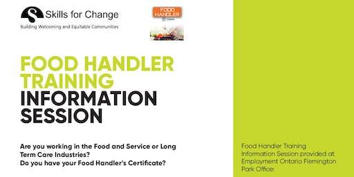 Food Handler Certification- Information Session (East)
