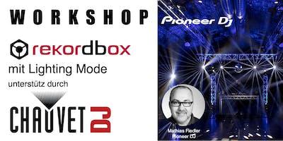 rekordbox Workshop  mit Lighting Mode bei Musikhaus Korn