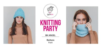 Knitting Party - Marzipan Hat & Candy Donut Snood - FORLI'