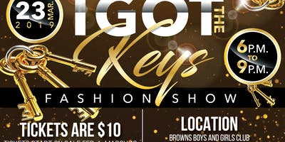 I got the keys fashion show
