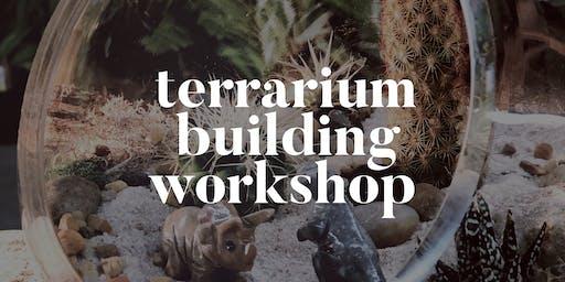 Terrarium Building Workshop