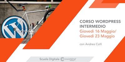 Corso WORDPRESS Intermedio (16 - 23 maggio 2019)