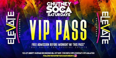 Chutney Soca Saturdays