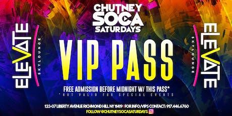 Chutney Soca Saturdays tickets