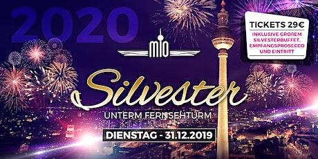 Silvester 2019/2020 unter dem Berliner Fernsehturm, inklusive Buffet und Prosecco Empfang Tickets