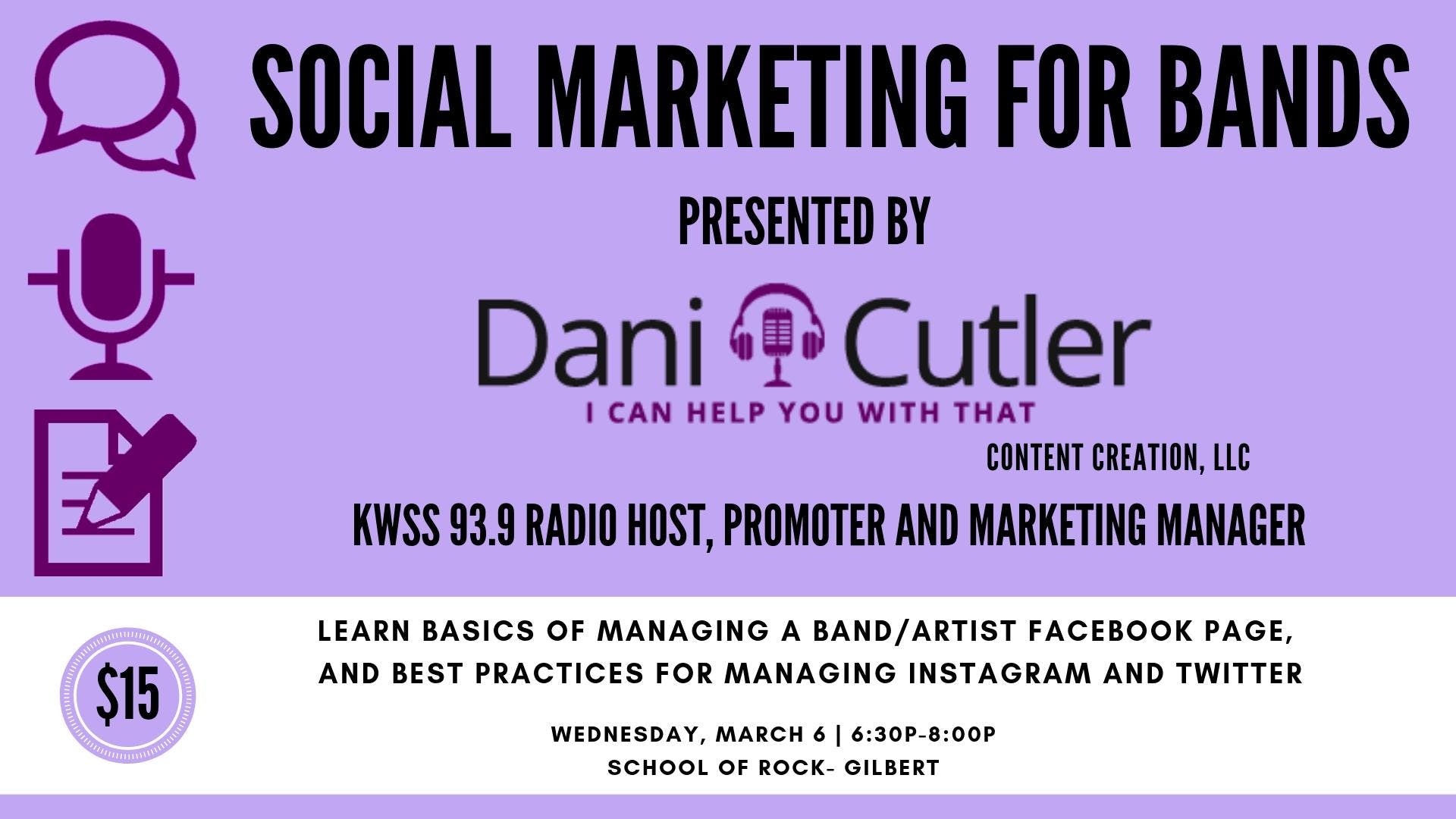 Social Marketing For Bands