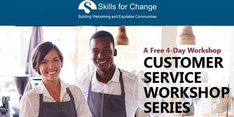 Customer Service Hospitality Workshop Session (East) 4 Days tickets