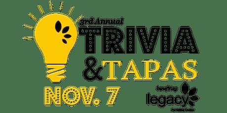 3rd Annual Trivia & Tapas tickets