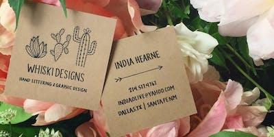 May Speaker Series - India Hearne, Whiski Designs