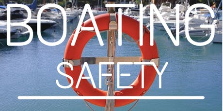 USCG Auxiliary Bayside, NY presents NYS Safe Boating Course tickets