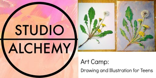 Art Camp: Drawing and Illustration for Teens