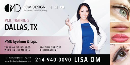 3-DAY Permanent Eyeliner & Permanent Lips Training Certification | OM Design Academy
