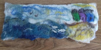 Felted Pictures with Threads, Fabrics and Stitch
