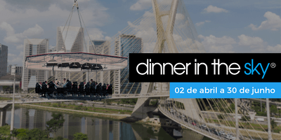 18/05/2019   Dinner in the Sky Brasil
