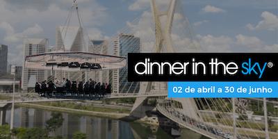01/05/2019   Dinner in the Sky Brasil