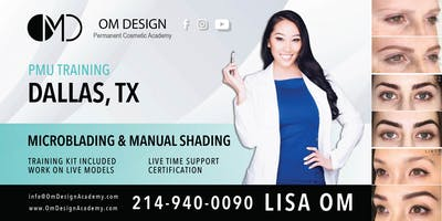 3-DAY Microblading & Microshading Training Certification | OM Design Academy