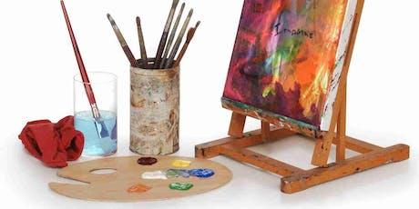 Cours de peinture  tickets