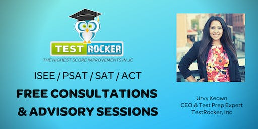 Jersey City ISEE/PSAT/SAT/ACT Prep Assessment Appointment - FREE