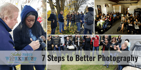 "7 Steps to Better Photography – A 4 Hour ""Crash Course"" tickets"