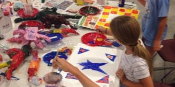 Art Camp with Georgia O'Neal 6-8 years old