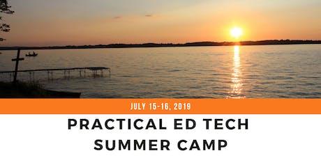 Practical Ed Tech Summer Camp tickets