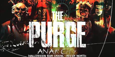 The Annual Purge: Anarchy | Halloween Bar Crawl  tickets