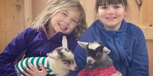 Feels Like OM Holiday Goat Pajama Party