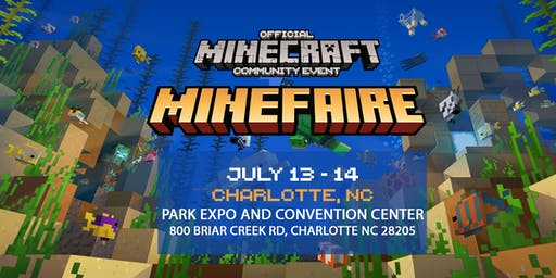 Minefaire: Official MINECRAFT Community Event (Charlotte, NC)