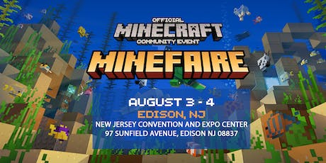 Minefaire: Official MINECRAFT Community Event (Edison, NJ) tickets