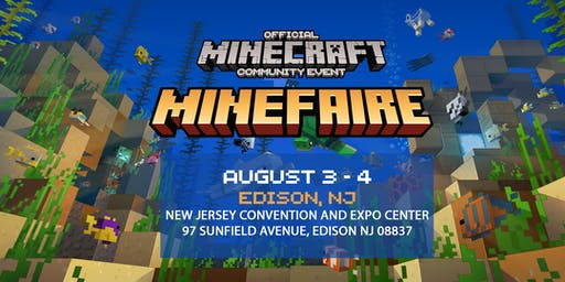 Minefaire: Official MINECRAFT Community Event (Edison, NJ)