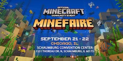 Minefaire: Official MINECRAFT Community Event (Chicago, IL)
