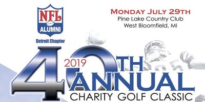 NFL Alumni 40th Annual Charity Golf Classic