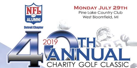 NFL Alumni 40th Annual Charity Golf Classic tickets