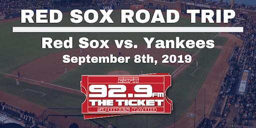 Red Sox vs. Yankees Road Trip - September 8th, 2019