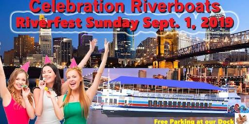WEBN-Cincinnati Bell ~ Riverfest Cruise, Sunday Sept. 1, 2019