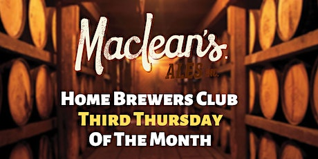 MacLean's Ales Home Brewers Club tickets