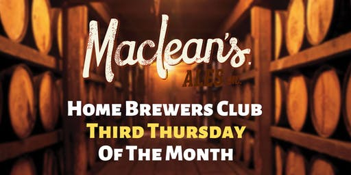 MacLean's Ales Home Brewers Club