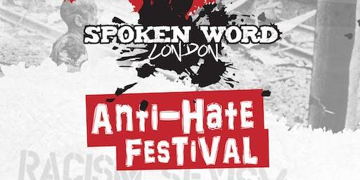 spoken word london anti hate